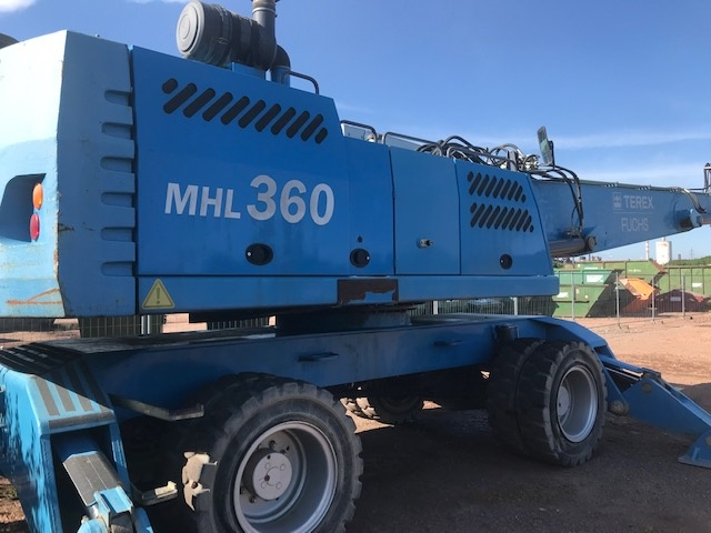 Used 2010 Fuchs MHL360D For Sale