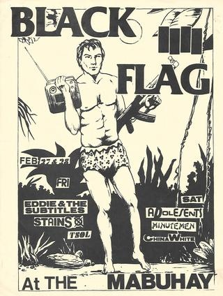 Black Flag Mubuhay Flyer