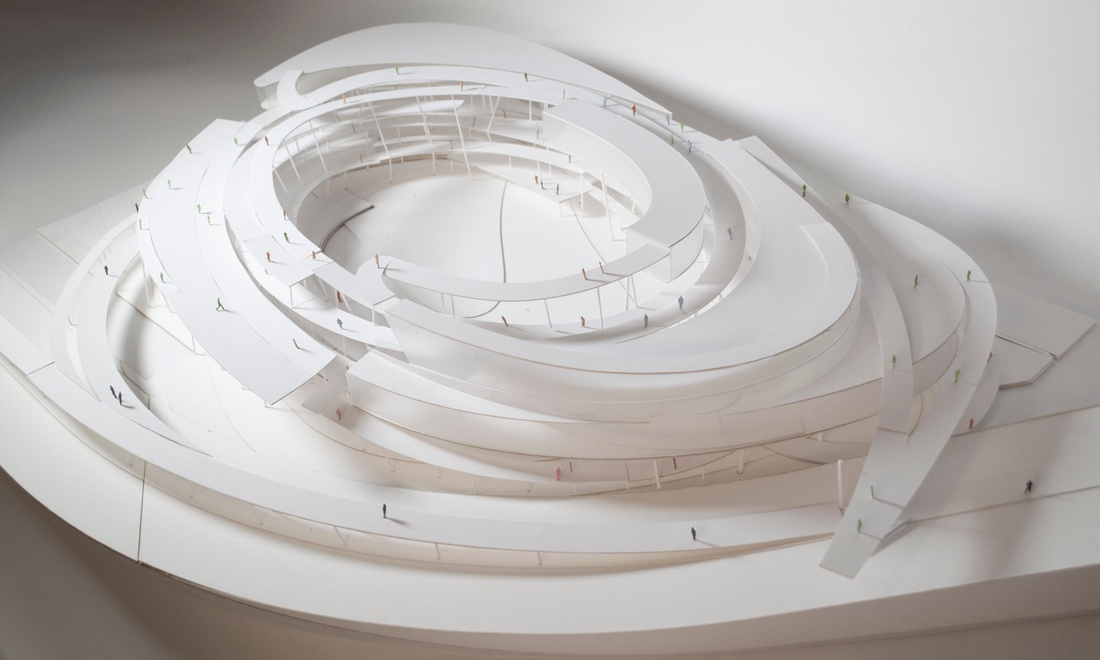 Model view by Pierre Thach.