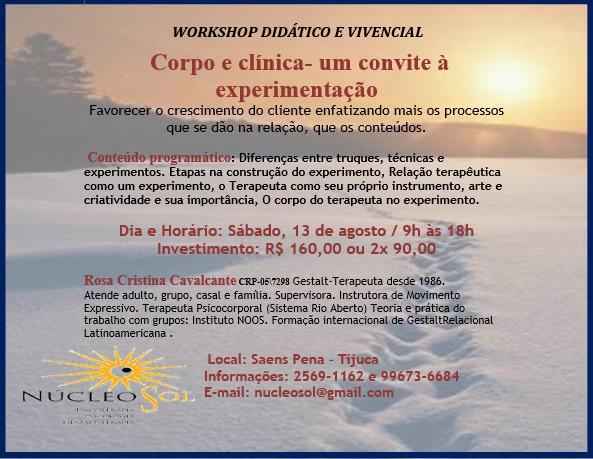 Workshop Didático e Vivencial
