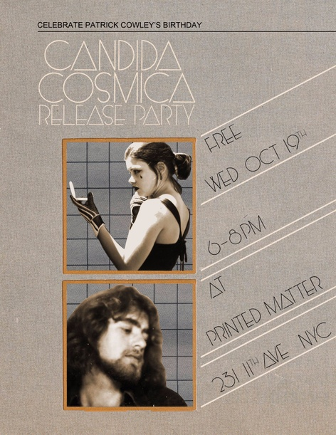 Candida Cosmica Release Event - Candida Royalle & Patrick Cowley