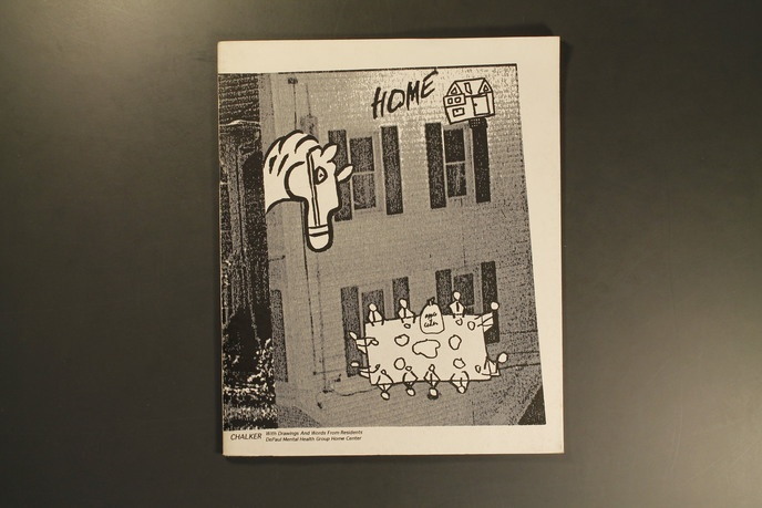 Home : With Drawings and Words from Residents of the DePaul Mental Health Group Home Center thumbnail 5