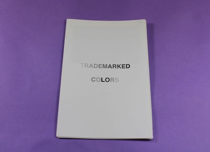 Trademarked Colors