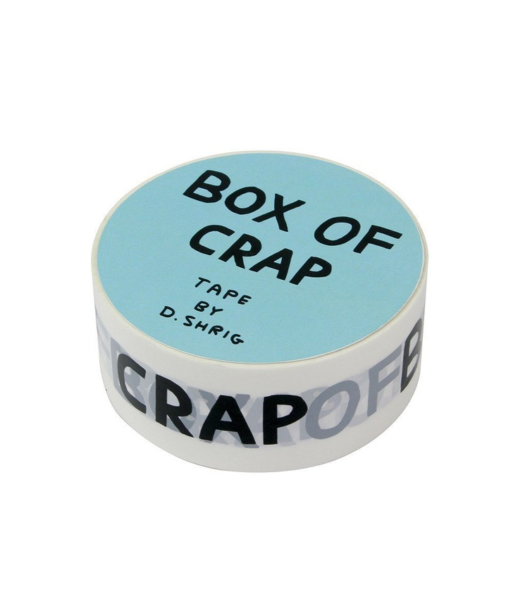 Box of Crap Packing Tape