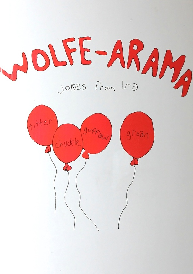 Wolfe-Arama : Jokes from Ira