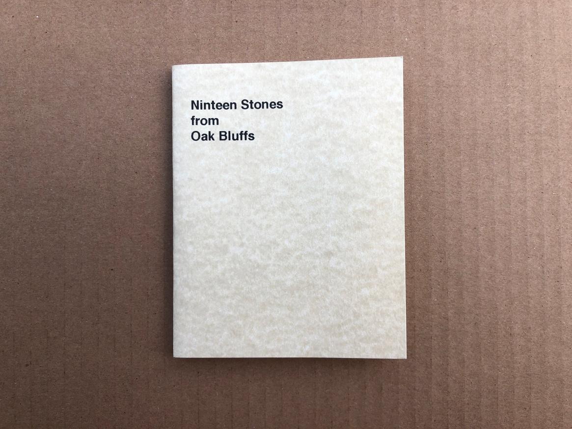 Nineteen Stones from Oak Bluffs