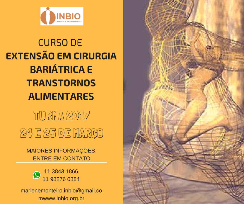 ATUAÇÃO PSICOLÓGICA EM CIRURGIA BARIÁTRICA e METABÓLICA E NOS TRANSTORNOS ALIMENTARES