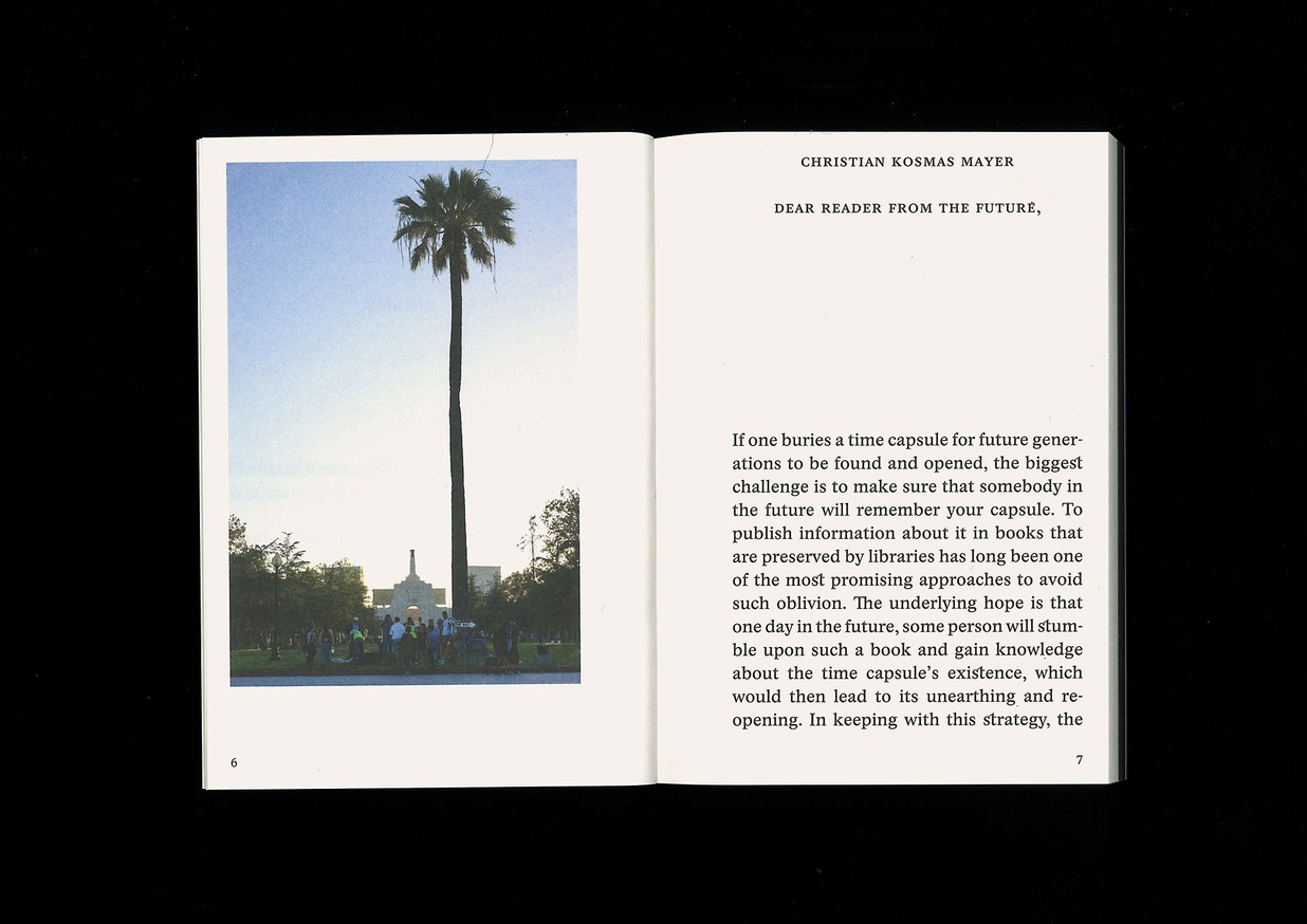 The Book of Record of the Palm Capsule Designed for resisting the effects of time. thumbnail 2